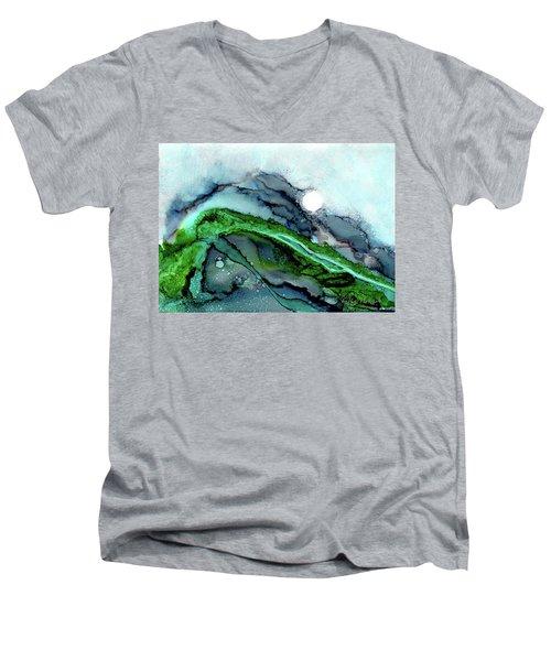 Moondance I Men's V-Neck T-Shirt