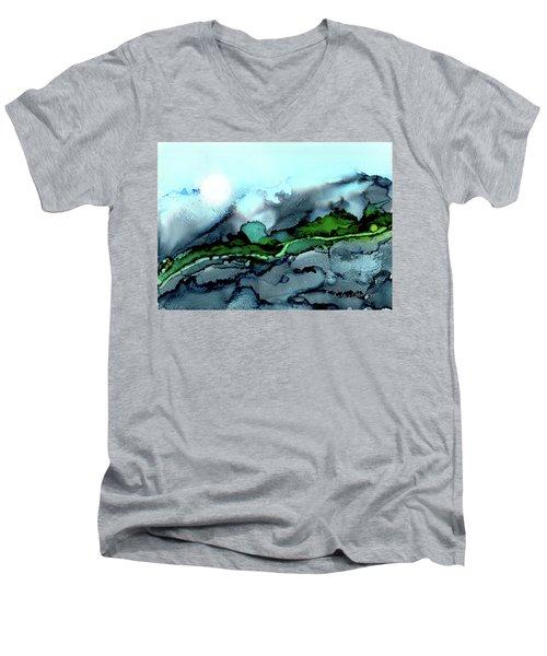 Moondance Iv Men's V-Neck T-Shirt