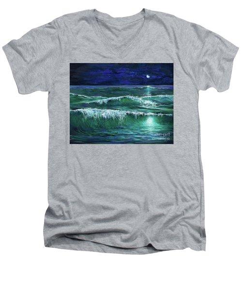 Moonshine Men's V-Neck T-Shirt