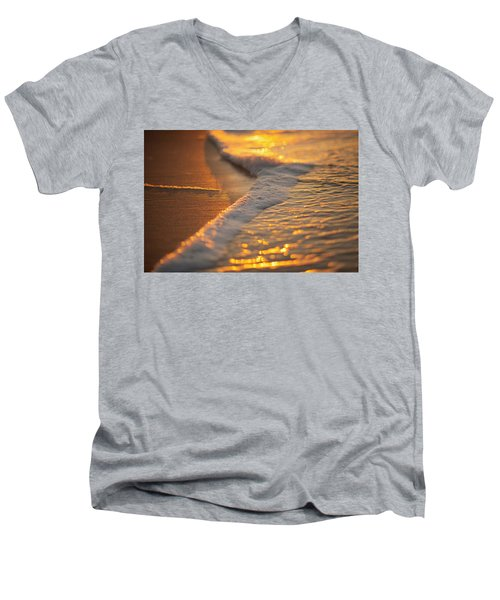 Morning Shoreline Men's V-Neck T-Shirt