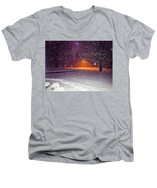 Morning Snow Men's V-Neck T-Shirt