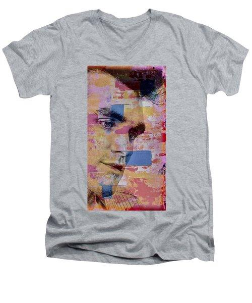 Morrissey Around Town Men's V-Neck T-Shirt