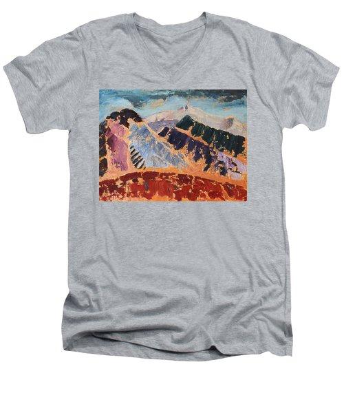 Mosaic Canigou Men's V-Neck T-Shirt