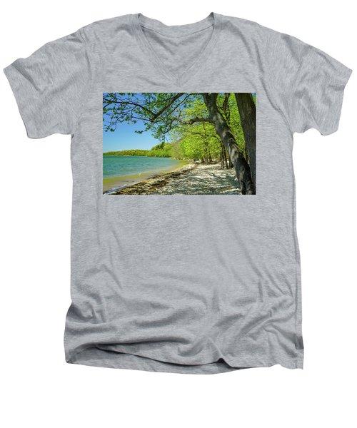 Moss Creek Beach Men's V-Neck T-Shirt