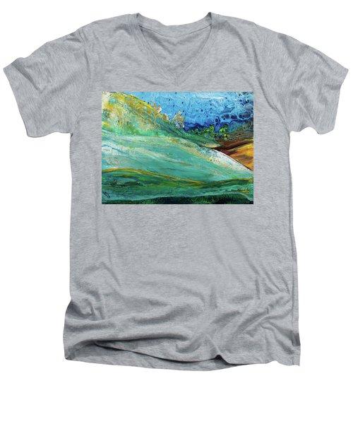 Mother Nature - Landscape View Men's V-Neck T-Shirt