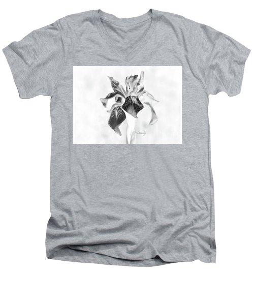 Mountain Lily Men's V-Neck T-Shirt