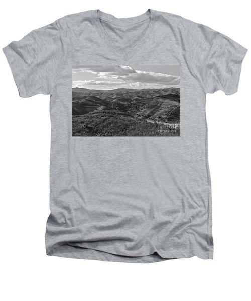 Mountain Paths Men's V-Neck T-Shirt