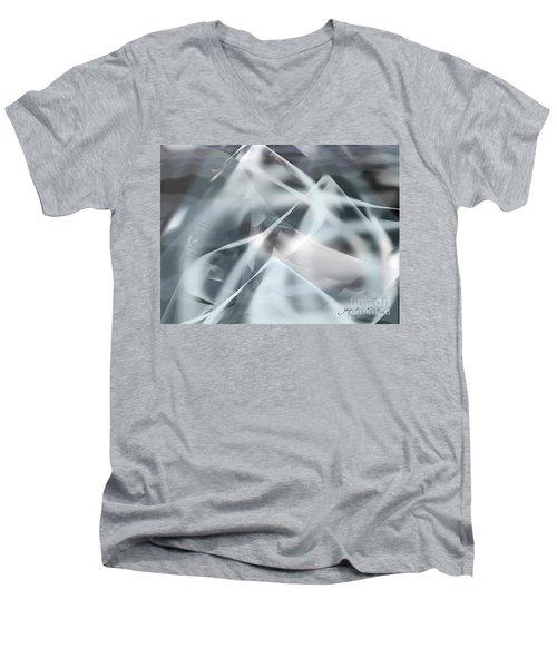 Mountains In The Mist Men's V-Neck T-Shirt