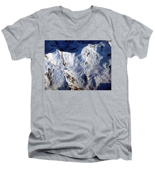 Mountaintop Snow Men's V-Neck T-Shirt