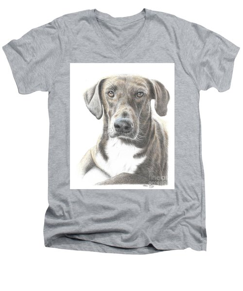 Mousse #2 Men's V-Neck T-Shirt