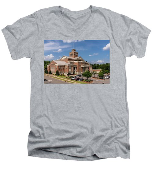 Municipal Building - North Augusta Sc Men's V-Neck T-Shirt