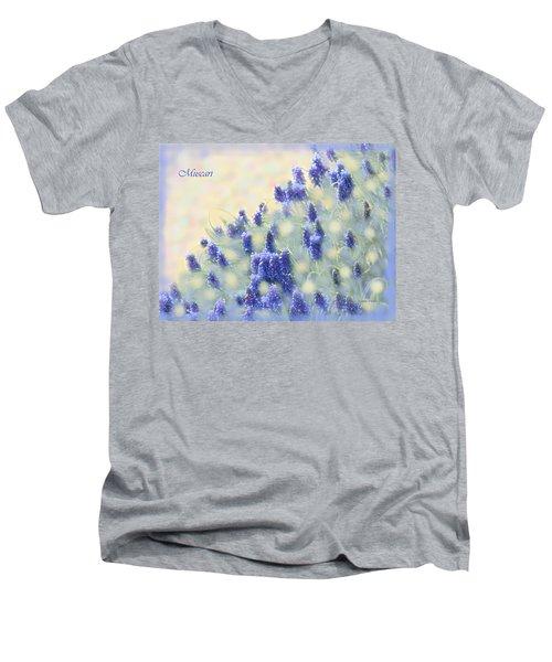 Muscari Morning Men's V-Neck T-Shirt