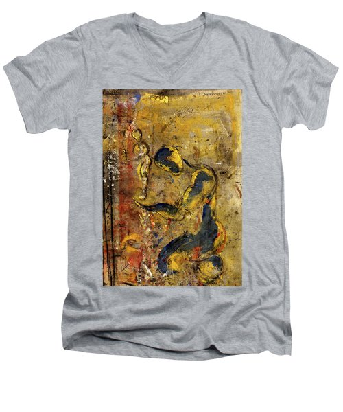My Likeness Men's V-Neck T-Shirt