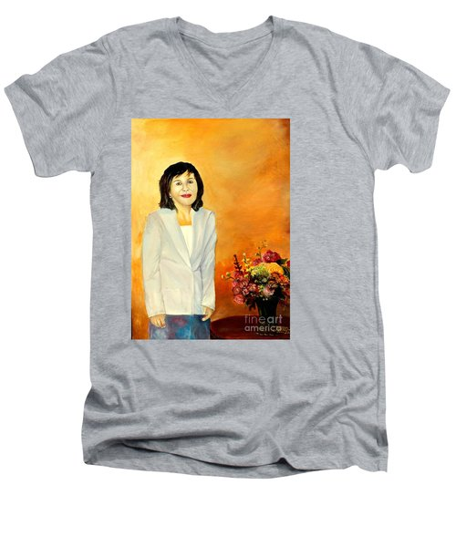 My Wife Men's V-Neck T-Shirt