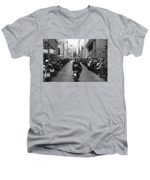 Naples Italy Men's V-Neck T-Shirt
