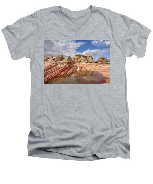 Natural Architecture Men's V-Neck T-Shirt
