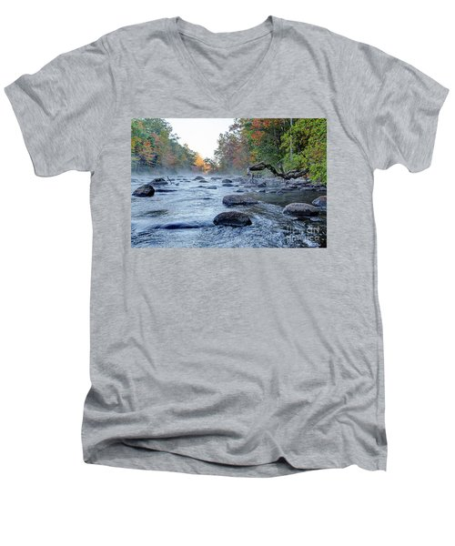 Near Riverton Men's V-Neck T-Shirt