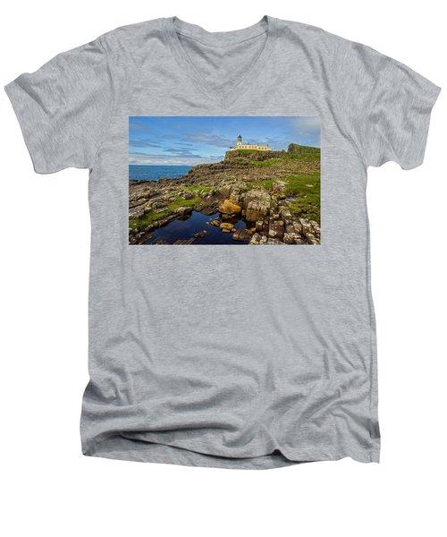 Neist Point Lighthouse No. 2 Men's V-Neck T-Shirt