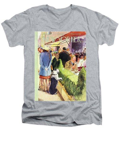 New Yorker August 17th 1946 Men's V-Neck T-Shirt