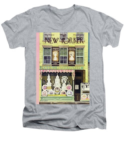 New Yorker March 2nd 1946 Men's V-Neck T-Shirt