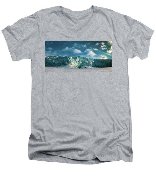 Nordenskioldbreen Men's V-Neck T-Shirt