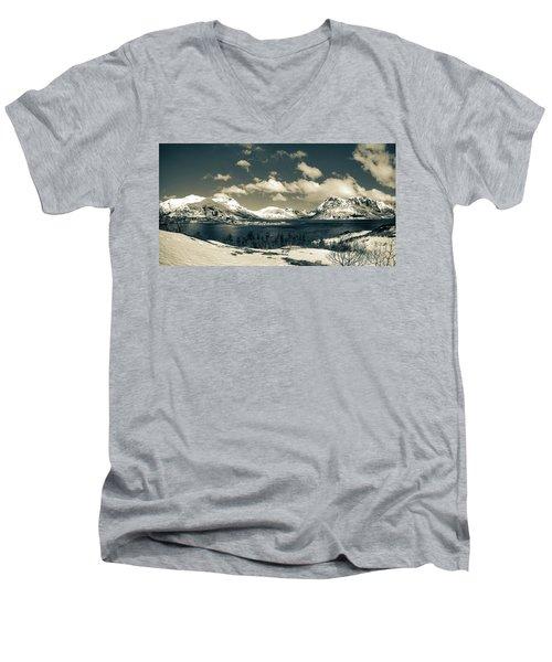 Nordland Men's V-Neck T-Shirt