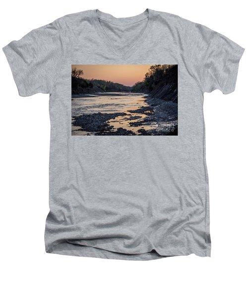 North Sulphur Men's V-Neck T-Shirt