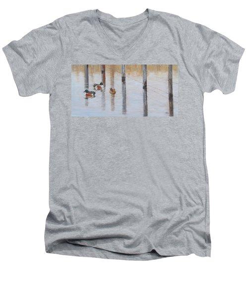 Northern Shovellers Men's V-Neck T-Shirt