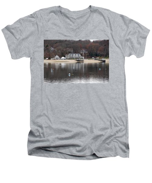 Northport Harbor Men's V-Neck T-Shirt