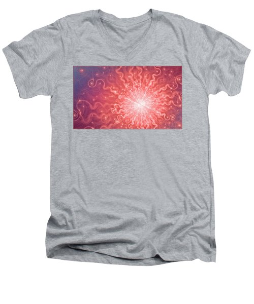 Numbers Men's V-Neck T-Shirt