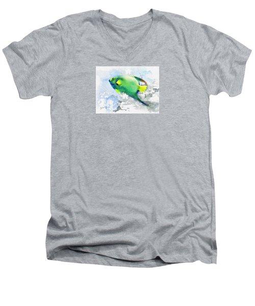 Ocean Colors Men's V-Neck T-Shirt