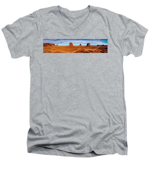 Men's V-Neck T-Shirt featuring the photograph Ocean Front Property In Arizona by David Morefield