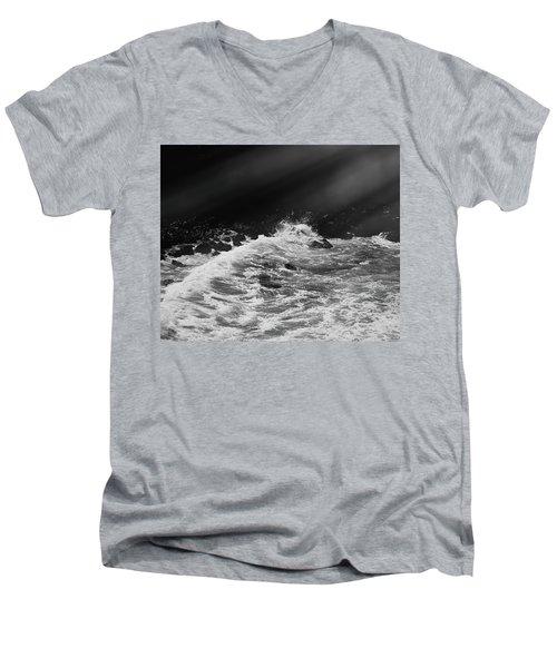 Ocean Memories Iv Men's V-Neck T-Shirt