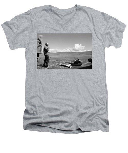 Office Of The Poet Men's V-Neck T-Shirt