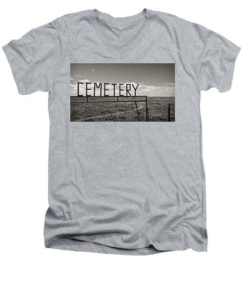 Oh, Bury Me Not Men's V-Neck T-Shirt