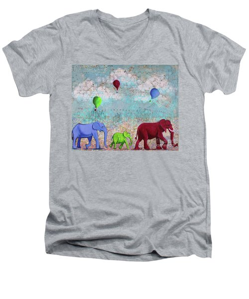 Oh The Places You'll Go Men's V-Neck T-Shirt