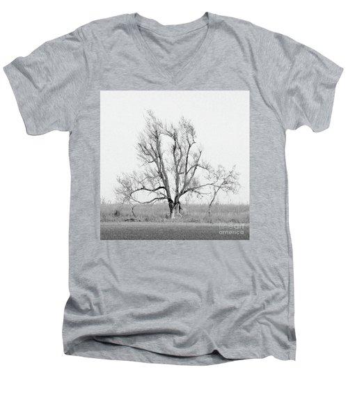 Oklahoma Tree Men's V-Neck T-Shirt