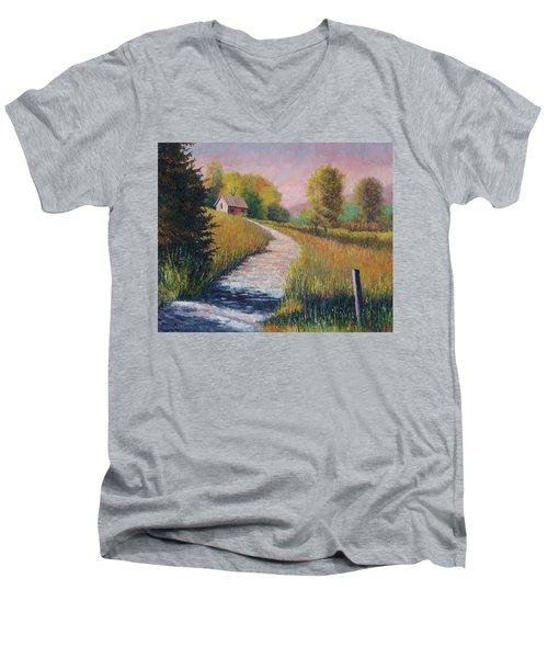 Old Road Men's V-Neck T-Shirt