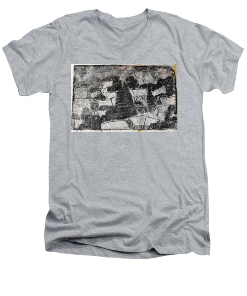 On The Day Of Execution Men's V-Neck T-Shirt