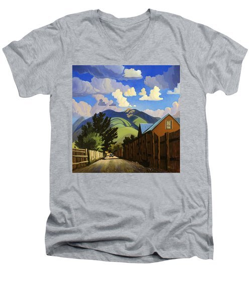 On The Road To Lili's Men's V-Neck T-Shirt