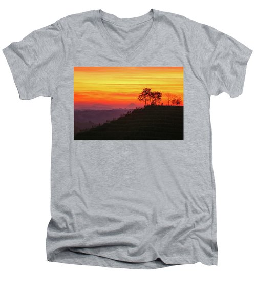 On The Viewpoint Men's V-Neck T-Shirt