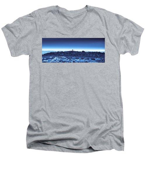 One Tree Hill -blue -2 Men's V-Neck T-Shirt
