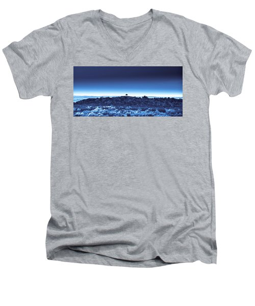 One Tree Hill - Blue 4 Men's V-Neck T-Shirt