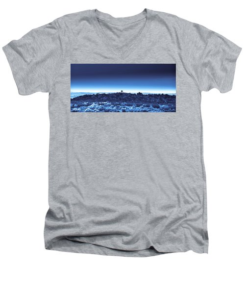 One Tree Hill - Blue 4 Men's V-Neck T-Shirt