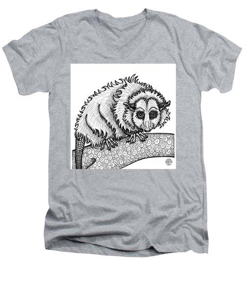 Opossum Men's V-Neck T-Shirt