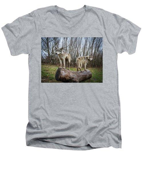 Opposite Ends Men's V-Neck T-Shirt