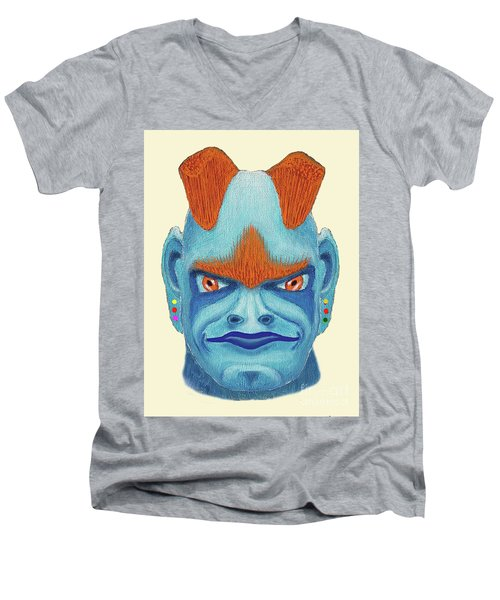 Orbyzykhan The Great Men's V-Neck T-Shirt
