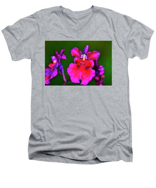 Orchid Study Three Men's V-Neck T-Shirt