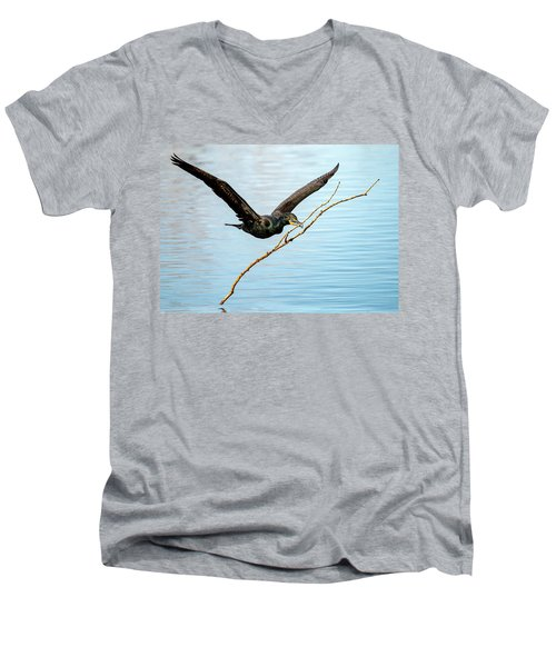 Over-achieving Cormorant Men's V-Neck T-Shirt