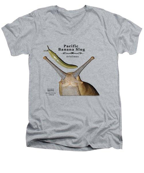 Pacific Banana Slug Men's V-Neck T-Shirt